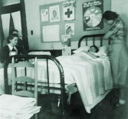 Nurses office in Pierce Hall